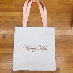 Newly Mrs Canvas Tote Bag